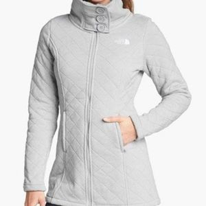 The North Face quilted jacket.